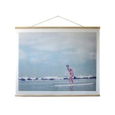 Create a vintage beach vibe in your casual cottage with this exemplary '60s Surfer Chic Wall Hanging. Epitomizing the enchanting whimsy of catching a wave, this print features a classic surfer girl bal...  Find the '60s Surfer Chic Wall Hanging, as seen in the Santa Monica Collection at http://dotandbo.com/collections/santa-monica?utm_source=pinterest&utm_medium=organic&db_sku=106760 #LuckOfThePin