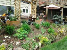 northwest flower bed