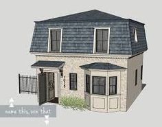 59 Best Mansard Roofs Images Attic Loft Mansard Roof Arquitetura