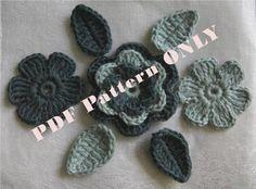 PDF CROCHET PATTERN  Organic Cotton Crochet by MotivesAndPatterns, $6.50