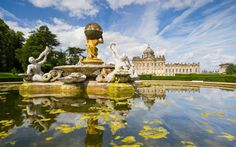 Cascades, lakes and fountains: what watery delights can be found in Britain's   most famous gardens?