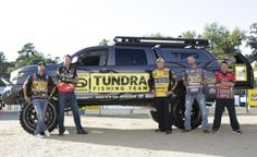 """""""I've been having a lot of fun with this project,"""" said Myers. You can see this truck on display all year on each stop of the 2013 Bassmaster Elite Series."""