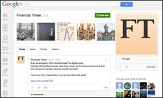 Financial Times clocks up 1m followers on Google+
