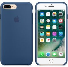 Apple iPhone 7 Plus siliconenhoesje oceaanblauw  SHOP ONLINE: http://www.purelifestyle.be/shop/view/technology/iphone-beschermhoezen/apple-iphone-7-plus-siliconenhoesje-oceaanblauw