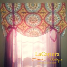 8 Steps to Create a Stagecoach Valance or Faux Roman Shade- Tutorial – LaCartera Designs Valance Tutorial, Roman Shade Tutorial, Types Of Window Treatments, Faux Roman Shades, Diy Blinds, Home Curtains, Curtain Patterns, Roman Blinds, Creative Inspiration