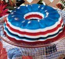 Patriotic Gelatin Bunt {Jello Recipes}