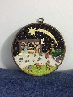 Imagen relacionada Christmas Sewing, Christmas Embroidery, Christmas Nativity, Felt Christmas, Handmade Christmas, Christmas Tree Ornaments, Christmas Holidays, Christmas Decorations, Nativity Crafts