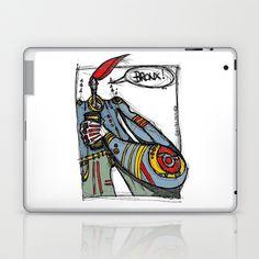 Bronx Laptop & iPad Skin by Maccu Maccu - $25.00