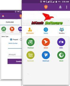 bKash Software #bKash Reseller #FlexiLoad Software #FlexiLoad