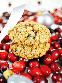 Cranberry Orange Oatmeal Cookies  - 40 Homemade Holiday Food Gift Recipes  on HGTV