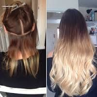 Hair extensions before and after hair extensions extensions and client before and after brazilian remy double drawn tape ins ombre 24 brazilian tape ins 37900 46900 100 brazilian remy human hair premium double pmusecretfo Gallery