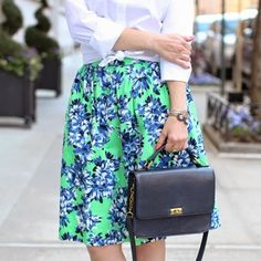 And now for the trifecta — the skirt!