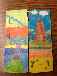 Third Grade Al Dente: Landforms Lapbook