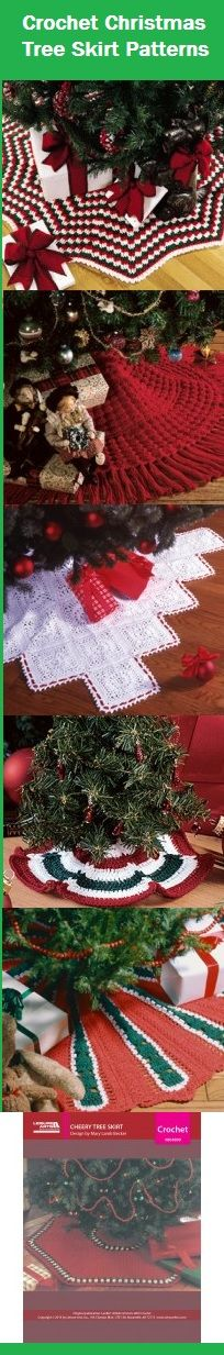 Christmas tree tablecloth tutorial: free crochet patterns ...