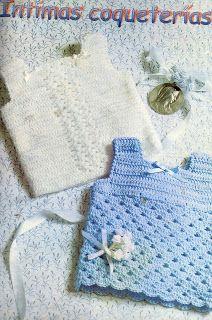 Tejiendo a crochet con Gaby: Batitas para bebés, de la web