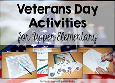 In this post, I share some of my favorite Veterans Day activities for upper elementary.