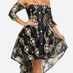 L ATISTE Dresses  amp  Skirts - MAKE REASONABLE OFFER Hi-Low Cold Shoulder 44b55a742