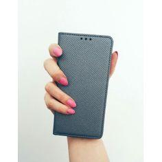 Etui obudowa MAGNET metalic do Huawei P9 Lite | etui portfelowe zamykane książeczka BOOK
