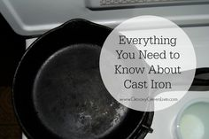 I've been gradually making the switch to safer pots and pans. About a year ago I reviewed a cast iron skillet and it rocked my world. Here's why.