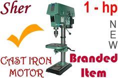 Drill Press SHER, 1-hp, 12-speed