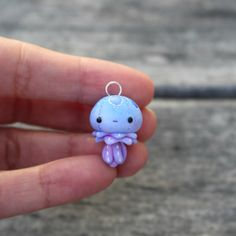Little Jellyfish Charm by TheLittleMew on Etsy