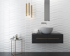19 Ideas For Bath Room Tiles Feature Wall Interior Design Stone Shower Floor, Small Sink, Mirror With Shelf, House Tiles, Room Tiles, Rustic Shelves, Vanity Sink, Bath Remodel, Diy On A Budget