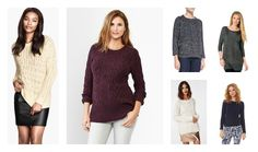 Fall must-have: classic cable knit sweaters