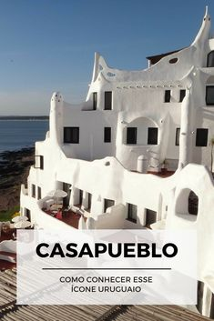 Aprenda sobre Casapueblo, um dos maiores ícones uruguaios, e descubra como fazer uma visita no post: http://www.viagememdetalhes.com.br/casapueblo/