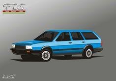VW Passat B2 Syncro