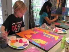 Collage and Mixed Media | Palo Alto, California  #Kids #Events
