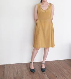 HELIA DRESS {ANAHIDE ST. ANDRÉ,MADE IN FRANCE}