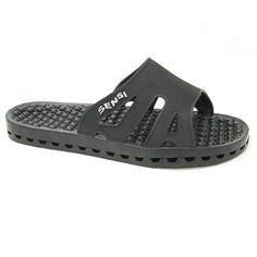 Sensi Sandals / Regatta Ice / Black / 13 Black 13, Solid Black, Spa Massage, Mens Fitness, Fit Women, Slip On, Sandals, Sneakers, Massage Products