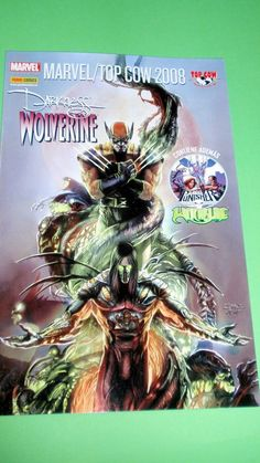 Comic DARKNESS WOLVERINE-top cow/marvel