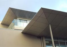 #Alucobond Facade Cladding #ACM #LivingstonGardens Facade Design, Garden S, Cladding, Building, Modern, Australia, Offices, Facades, Architecture