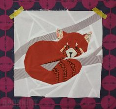 Forest QuiltAlong - Red Panda by badskirt, via Flickr