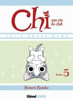 Chi, une vie de chat Tome 5 Texte de Konami Kanata (traduit par Kayo Chassaigne…