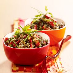 Salade de lentilles au chorizo (rapide)