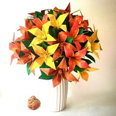 57 Best Large Origami Flower Arrangements Images Origami Flowers
