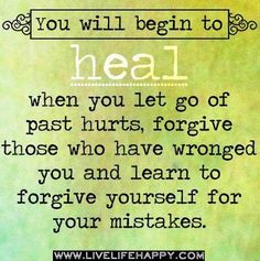 Forgiveness quote via Comeback Power at www.Facebook.com/CancerDuckIt and www.ComebackPower.com