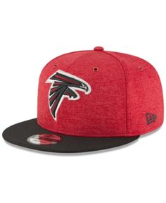 0f7784d634f New Era Atlanta Falcons On Field Sideline Home 9FIFTY Snapback Cap -  Red Black Adjustable