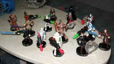 Star Wars 15 Attacktix Action Figures - $30 (Boise)