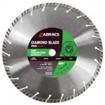 Abracs Diamond Blades For Hard Materials