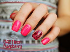 Semilac 042 Neon Raspberry