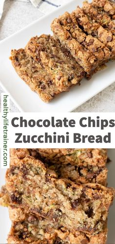 This fluffy chocolate chips zucchini bread is loaded with chocolate and shredded zucchini, which adds a lot of moisture to the bread. It is extra delicious served with a cup of coffee or tea for an excellent breakfast or dessert! This Zucchini bread is so healthy and delicious for a quick breakfast with a cup of tea or an easy dessert. #Zucchinibread #healthybreakfastrecipes #chocolatechipszucchinibread Beef Recipes Kid Friendly, Kid Friendly Meals, Chocolate Chip Zucchini Bread, Chocolate Chips, Duck Recipes, Dairy Free Recipes, What's For Breakfast, Healthy Breakfast Recipes, Shredded Zucchini