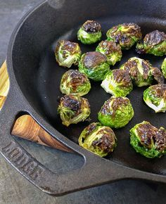 5-minute roasted Brussels sprouts - Marin Mama Cooks