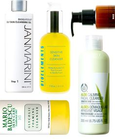 18 Best Face Cleansers - - This list led me to two cleansers I still use and absolutely love!