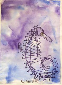 Gabrielle's Seahorse age 5