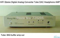 HIFI Tube Digital Analog Converter DAC with Headphone Amplifier 6N3 $169.00