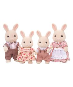 Love this Sweetpea Rabbit Family Toy Set by Calico Critters on #zulily! #zulilyfinds