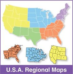 united states map with state names | USA State Maps, Interactive ...